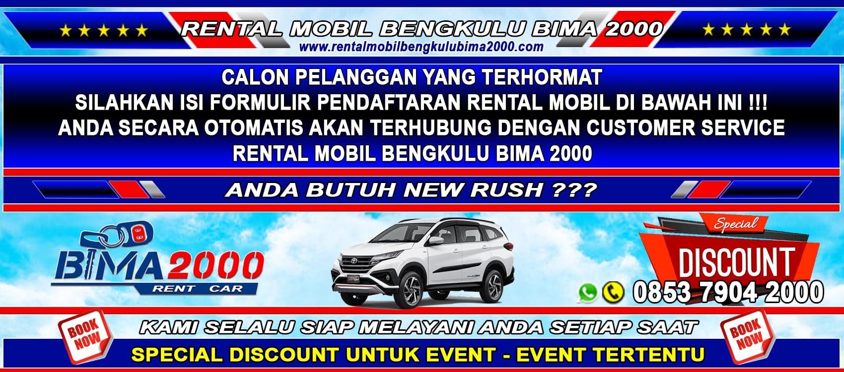 rental mobil bengkulu new rush