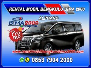rental mobil bengkulu alphard